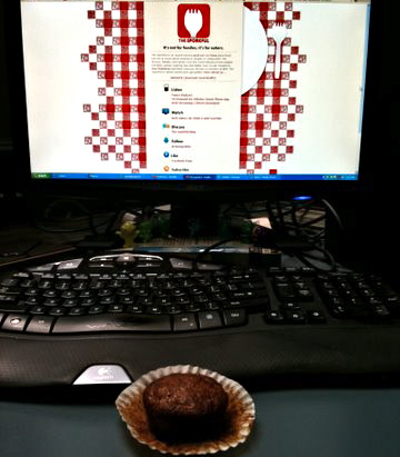 The View From Your Laptop: Carrot Muffin In Toronto