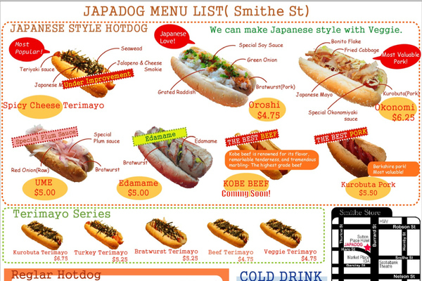 Japanese Hot Dogs Arrive Stateside