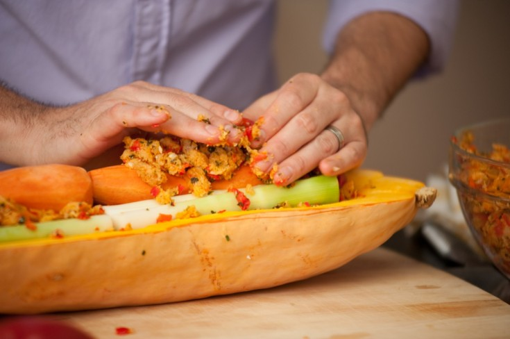 Veggieducken: Step-by-Step Recipe and Photos