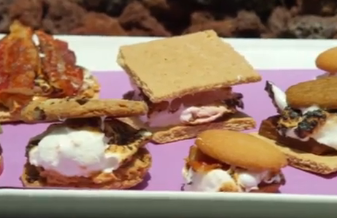 Make Your Own S'Mores Bar with Bacon, Peanut Butter, Apples and More (VIDEO)