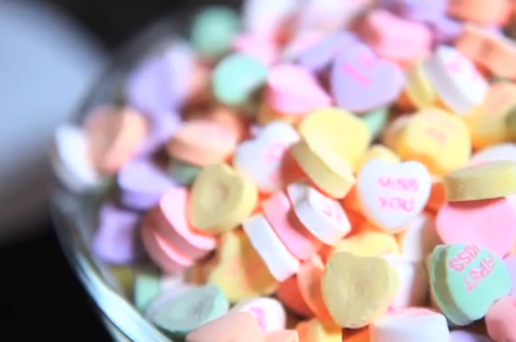 Valentine's Dinner Recipes: Candy-Crusted Chicken, Box of Chocolates Mole Sauce, and More (VIDEO)