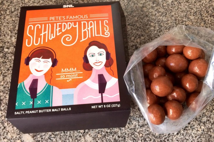 Review: Schweddy Balls, Colon Blow Cereal and More SNL Staples