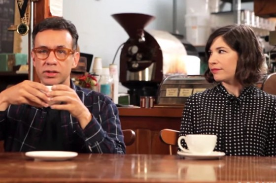 Portlandia's Fred Armisen and Carrie Brownstein On How To Order Coffee