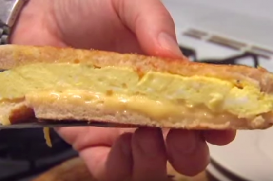 Grilled Egg and Cheese, The Sporkful Way