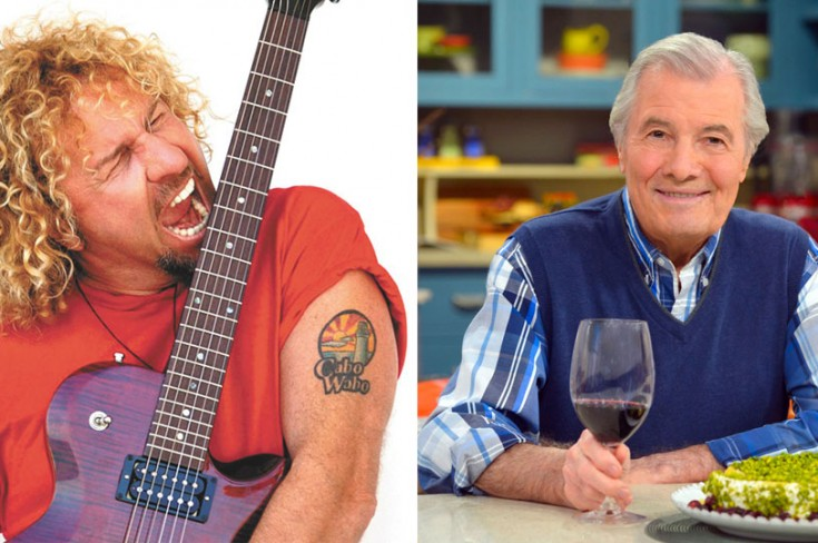 What Rock Star Sammy Hagar and Chef Jacques Pepin Have In Common