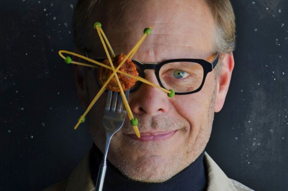Alton Brown Eats Eggs Over The Sink In His Underwear