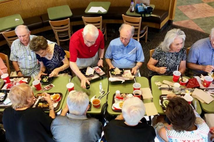 Shabbat Dinner at Wendy's